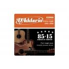 Encordamento D'addario violão aço 0.10